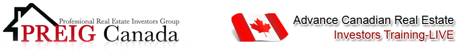 Professional Real Estate Investors Group of Canada Logo